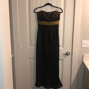 Strapless Evening Gown